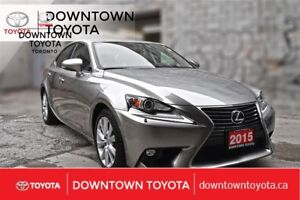 2015 Lexus IS 250 RWD,2 SETS OF TIRES,BLUETOOTH,SNOW MODE,CAMERA