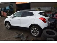 2015 VAUXHALL MOKKA SE 1.4 TURBO PETROL AUTOMATIC BREAKING