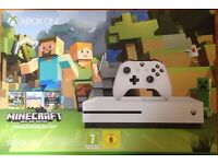 XBOX ONE GAMES CONSOLE MINECRAFT EDITION - BOXED NEW