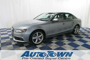 2011 Audi A4 Premium Plus AWD/ACCIDENT FREE/LOCAL/SUNROOF