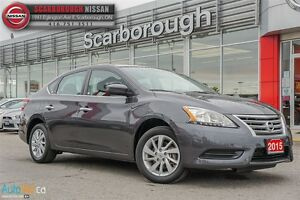 2015 Nissan Sentra 1.8 SV-ACCIDENT FREE / LOW KM'S!!!