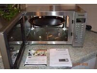 Panasonic NN-CT585S combination microwave oven. Brand New in box.