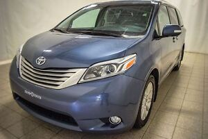 2015 Toyota Sienna Limited, XLE, AWD, 7 Passagers, Toit, Navigat