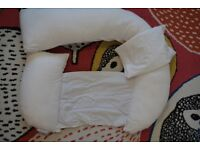 Pregnancy support and feeding pillow