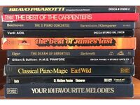 Classical Music LPs - 10 Box Sets