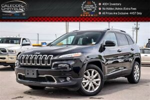 2016 Jeep Cherokee Limited|Navi|Backup Cam|Bluetooth|Leather|R-S