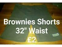 Girls Brownies Shorts