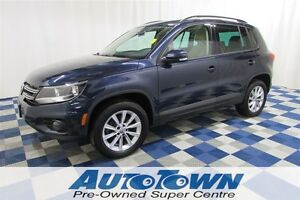 2014 Volkswagen Tiguan Comfortline/ALLOY WHEELS/LEATHER INTERIOR