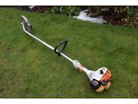 stihl FS 55 petrol 2 stroke grass hedge cutter