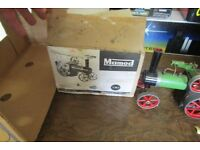 TOY MAMOD TRACTION ENGINE STEAM ROLLER ?? WITH BOX AND TRI-ANG LORRY NORTHAMPTON