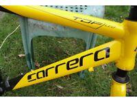 carrera bike frame