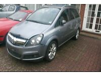 BREAKING VAUXHALL ZAFIRA Z163 2006 56 1.9CDTI 150BHP SILVER MOST PARTS AVAILABLE 87k