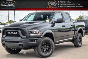 2017 Ram 1500 New Truck Rebel|4x4|Black Ram|Backup Cam|Bluetooth