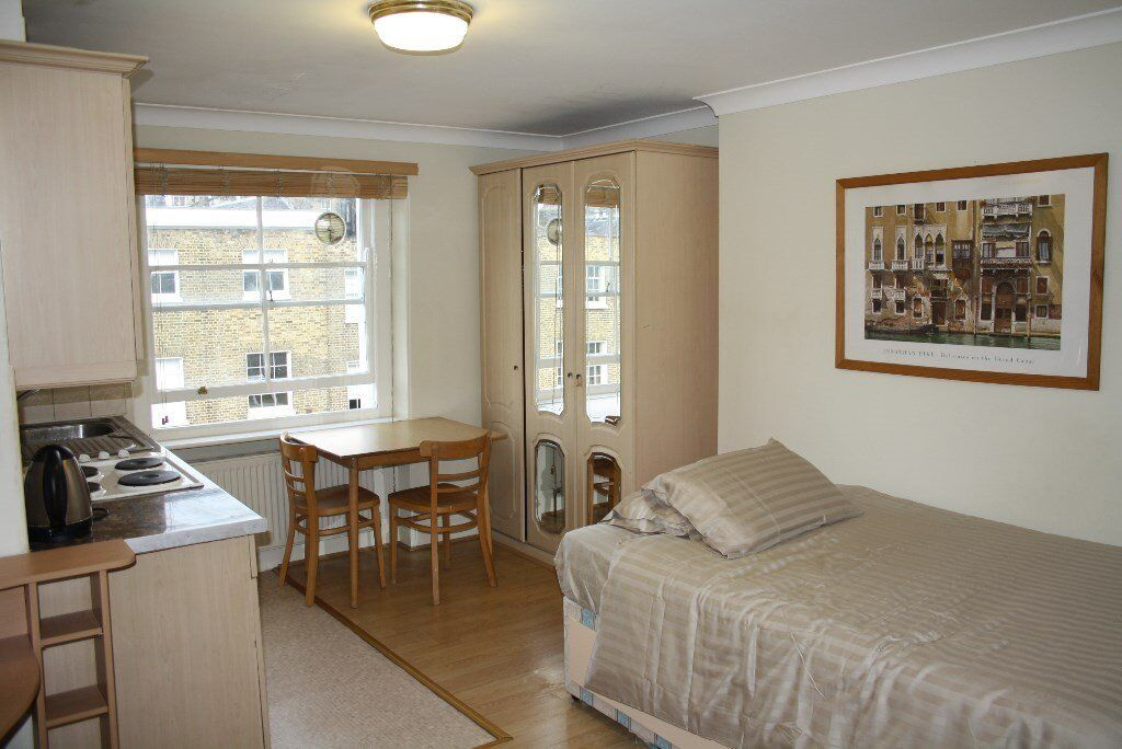 Stunning bedsit apartment in the heart of Marylebone