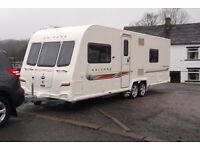 Twin Axle Bailey Unicorn Barcelona 4 Berth Caravan for Sale Due to Unforeseen Circumstances