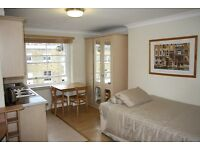 Spacious bedsit apartment in Baker Street