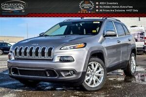 2017 Jeep Cherokee NEW Car|Limited|Navi|Backup Cam|Leather|Bluet