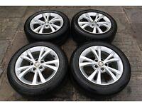Alfa Romeo Giulietta 16In Turbine Alloy Wheels 156093263 + Bridgestone Tyres