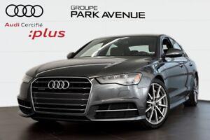2018 Audi A6 3.0 TFSI PROGRESSIV S LINE ! CERTIFIÉ INCLUS !