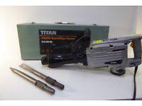 Titan 1500W Demolition Hammer 40J 1704045