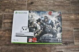 XBOX ONE S WITH EXTRAS BARELY USED £170ono