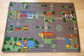 Childrens Town/City Plan Car Play Mat - 100cm x 135cm