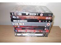10 DVD,S Including Hornblower, Bo Selector 2 And Hostel