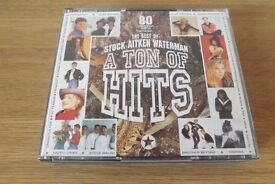 Stock, Aitken and Waterman- A Ton Of Hits - 3 CD Set