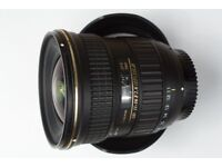 Tokina 11-16mm f/2.8 AT-X Pro DX II Nikon Great Condition!!!