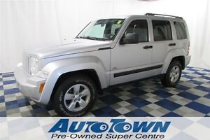 2012 Jeep Liberty Sport/LOCAL/KEYLESS ENTRY/SUNROOF/HEATED MIRRO