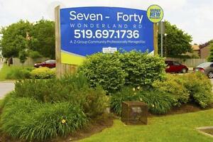 740 Wonderland Road South - 2 Bedroom Apartment for Rent