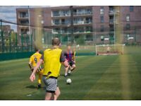 8-A-side footy in Vauxhall looking for players to join!