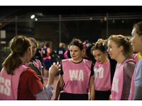 Social Netball Leagues - Fun evenings playing your favourtie sport