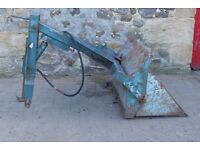 Rear tractor loader ( Tanco)