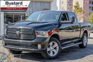 2014 Ram 1500 SPORT | LEATHER | AIR RIDE | COOLED SEATS | HEMI |
