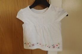 Girls T-Shirt Age 6-9 Months