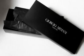 Giorgio Armani Si EDP 15ml perfume, gift set with a make-up bag