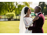 Beautiful wedding photography + custom wedding website included