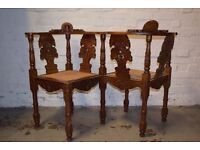 Antique Conversation Seat (DELIVERY AVAILABLE)