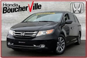 2014 Honda Odyssey Touring DVD GPS Garantie 100,000km ou fev 201