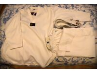 Taekwondo suit white original Korean WTF for Adult 180-190cm White belt included No club logo