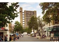 Trellick Tower flat for rent - 2 double bedrooms on 9th floor. Recently refurbished, good condition.
