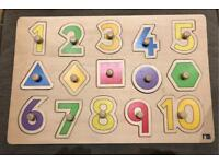 Mothercare Wooden Jigsaw Puzzle