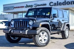 2016 Jeep WRANGLER UNLIMITED NEW Car|Sport 4x4 Dual Top Bluetoot