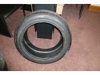 Pirelli 18 inch part worn tyre for sale 245/45/18