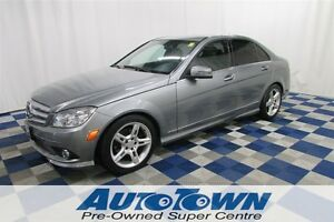 2010 Mercedes-Benz C-Class C250/AWD/SUNROOF/LEATHER INTERIOR!!