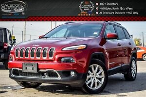 2016 Jeep Cherokee Limited|4x4|Navi|Duale Pane Sunroof|Safety Ta