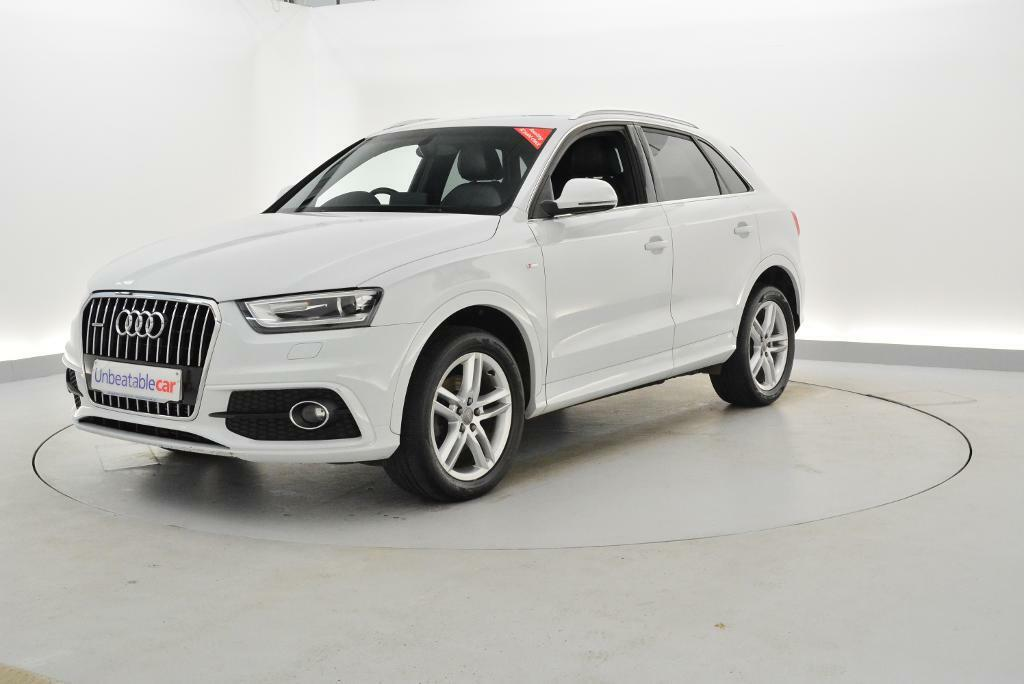 audi q3 2 0 tdi s line 5dr white 2013 in crawley west. Black Bedroom Furniture Sets. Home Design Ideas