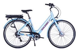 RALEIGH ARRAY Low Step Electric Bike.