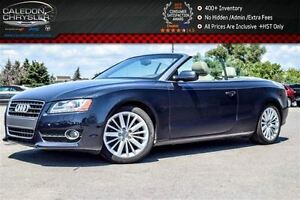 2012 Audi A5 2.0L Premium Plus|Quattro|Power Top|Bluetooth|Leat